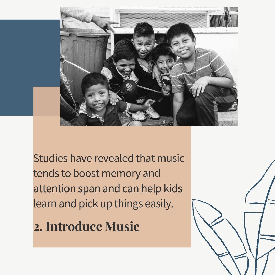 introduce music